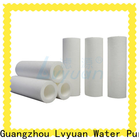 customized melt blown filter supplier for food and beverage