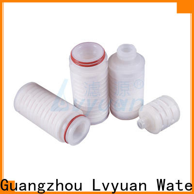 Lvyuan nylon pleated water filters supplier for liquids sterile filtration