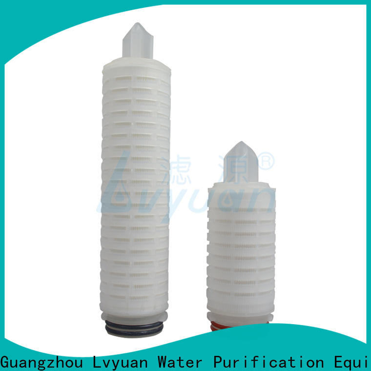 Lvyuan pvdf pleated filter manufacturers supplier for industry