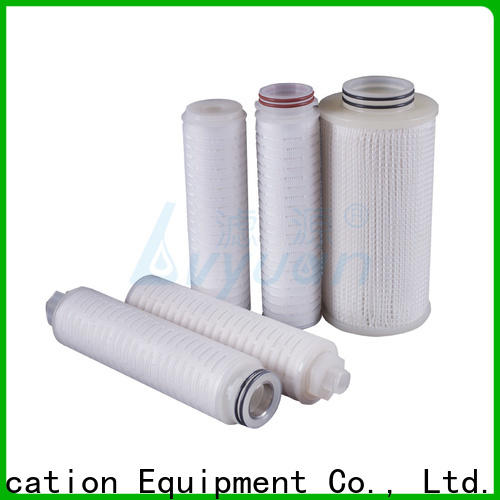 Lvyuan nylon pleated filter cartridge suppliers replacement for liquids sterile filtration