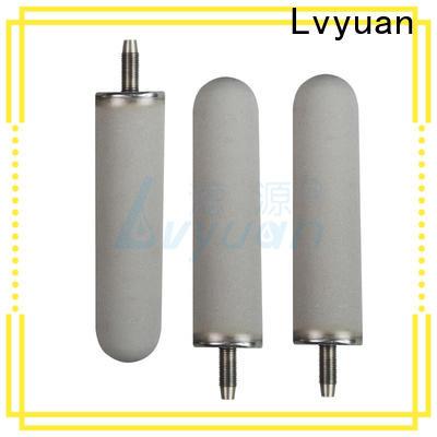 titanium sintered filter cartridge manufacturer for food and beverage