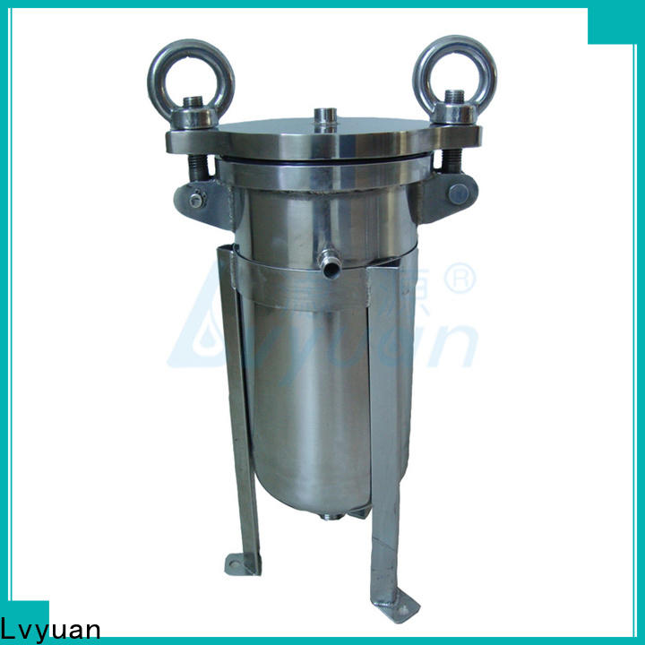 Lvyuan best ss cartridge filter housing rod for sea water desalination