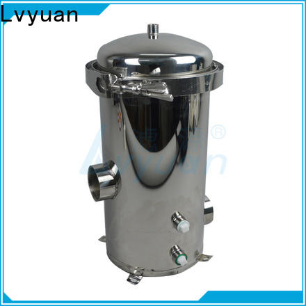 porous stainless steel filter housing manufacturers with core for sea water treatment