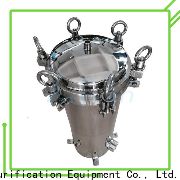 high end ss bag filter housing rod for oil fuel
