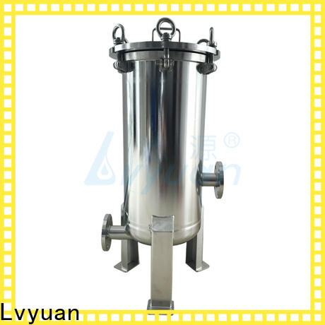 Lvyuan best stainless steel water filter housing rod for sea water treatment