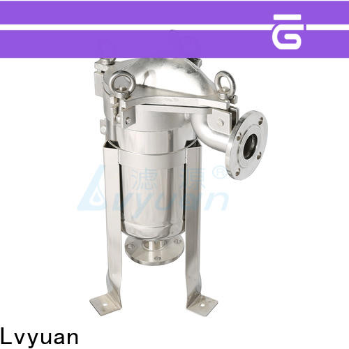 Lvyuan professional stainless steel cartridge filter housing rod for oil fuel
