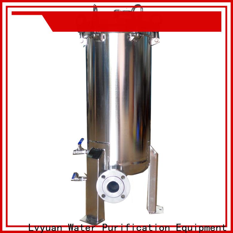 efficient stainless steel water filter housing housing for sea water desalination