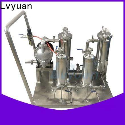 Lvyuan stainless steel water filter cartridge factory for sea water desalination