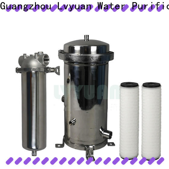 high end stainless steel cartridge filter housing housing for sea water treatment