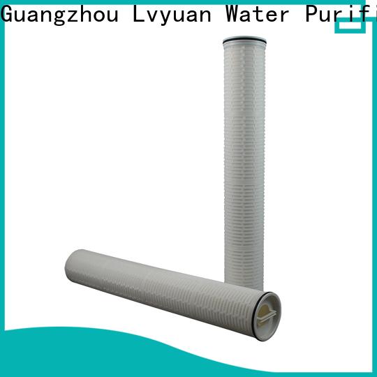 Lvyuan water high flow filter park for sale