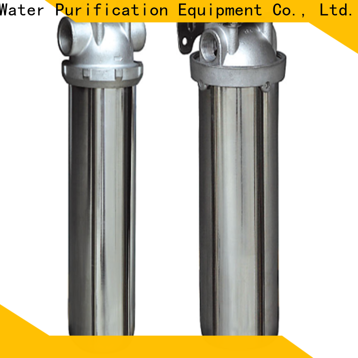 porous stainless steel bag filter housing with core for food and beverage