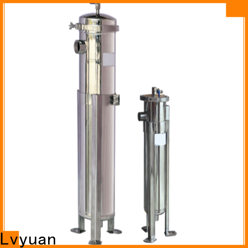 professional ss cartridge filter housing with fin end cap for industry