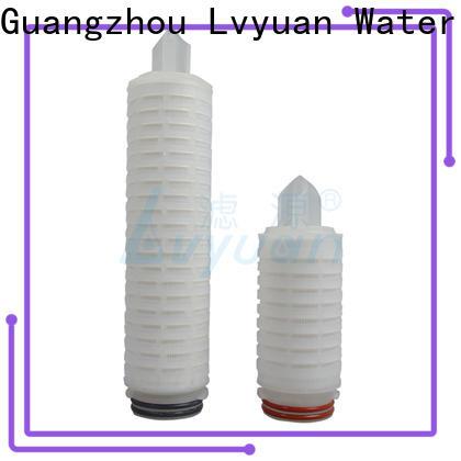 Lvyuan pleated filter manufacturer for liquids sterile filtration
