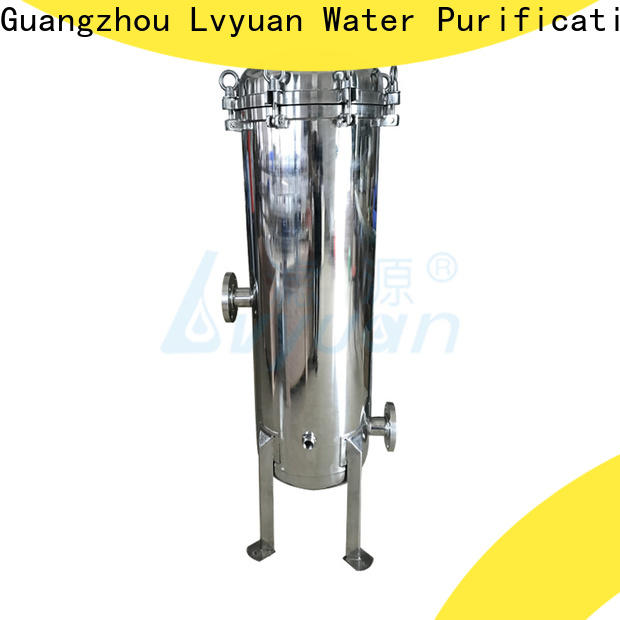 efficient stainless steel filter housing manufacturers housing for food and beverage