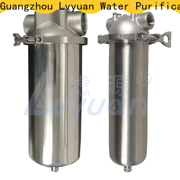 stainless steel water filter cartridge supplier for sea water desalination