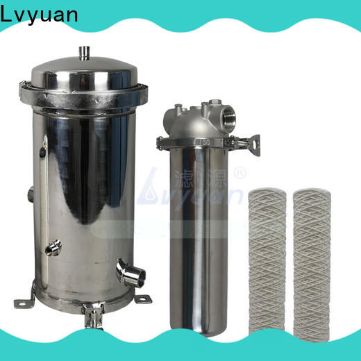 Lvyuan ss filter housing with core for sea water treatment
