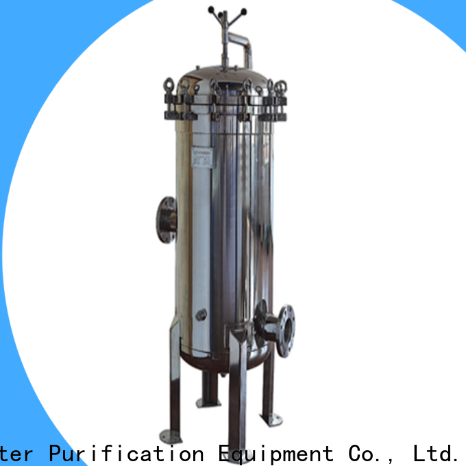 Lvyuan stainless steel water filter housing with core for industry