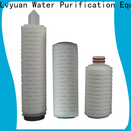 Lvyuan pvdf pleated filter manufacturer for industry
