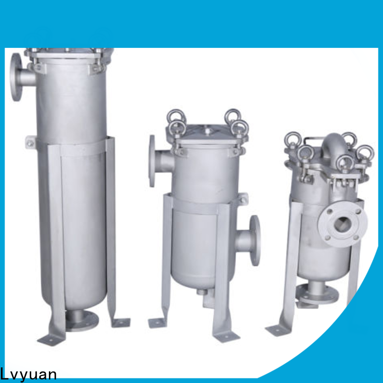 Lvyuan stainless steel filter housing manufacturers with core for sea water desalination
