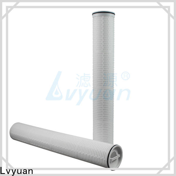 Lvyuan high flow water filter cartridge park for sea water desalination
