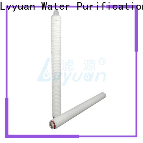 Lvyuan pleated water filters manufacturer for organic solvents