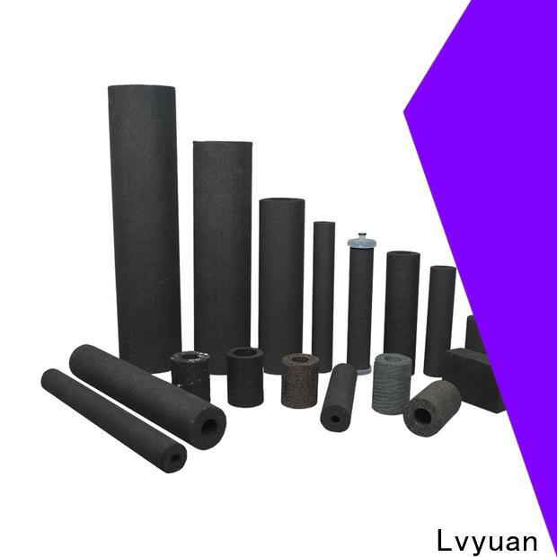 titanium sintered carbon water filter manufacturer for sea water desalination