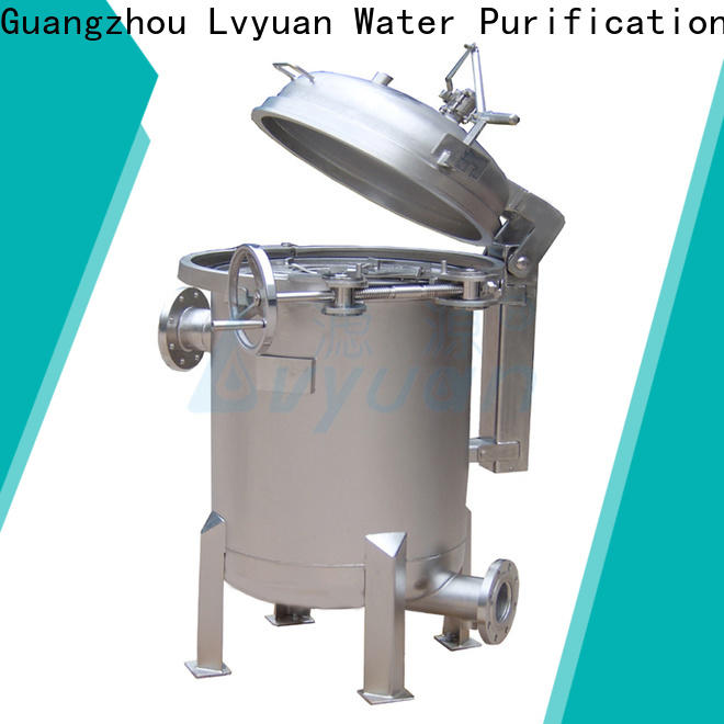 Lvyuan stainless steel cartridge filter housing with core for industry