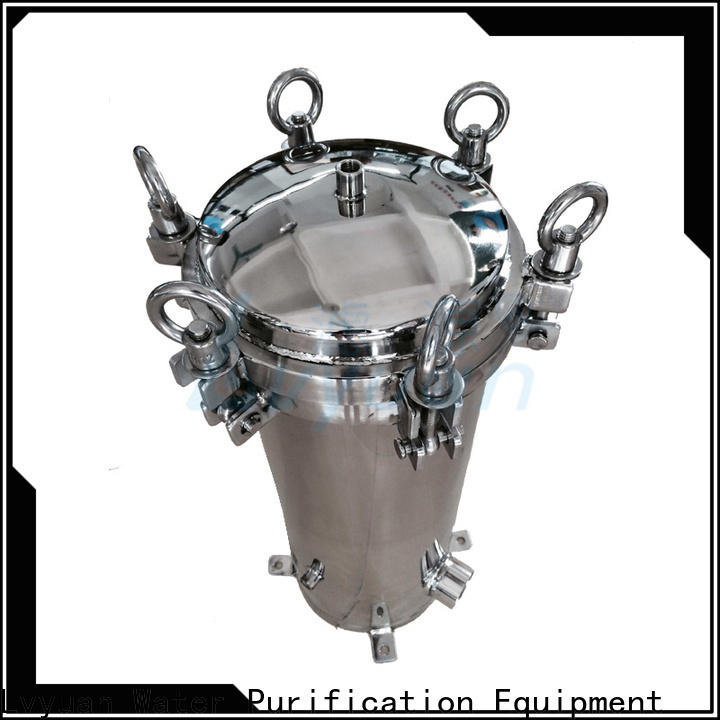 Lvyuan porous stainless steel water filter housing manufacturer for food and beverage