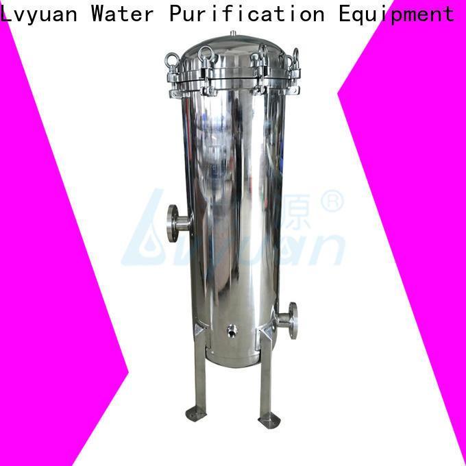 Lvyuan efficient ss filter housing manufacturers manufacturer for sea water desalination