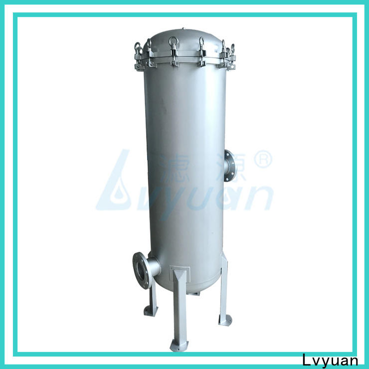 Lvyuan porous ss cartridge filter housing rod for food and beverage