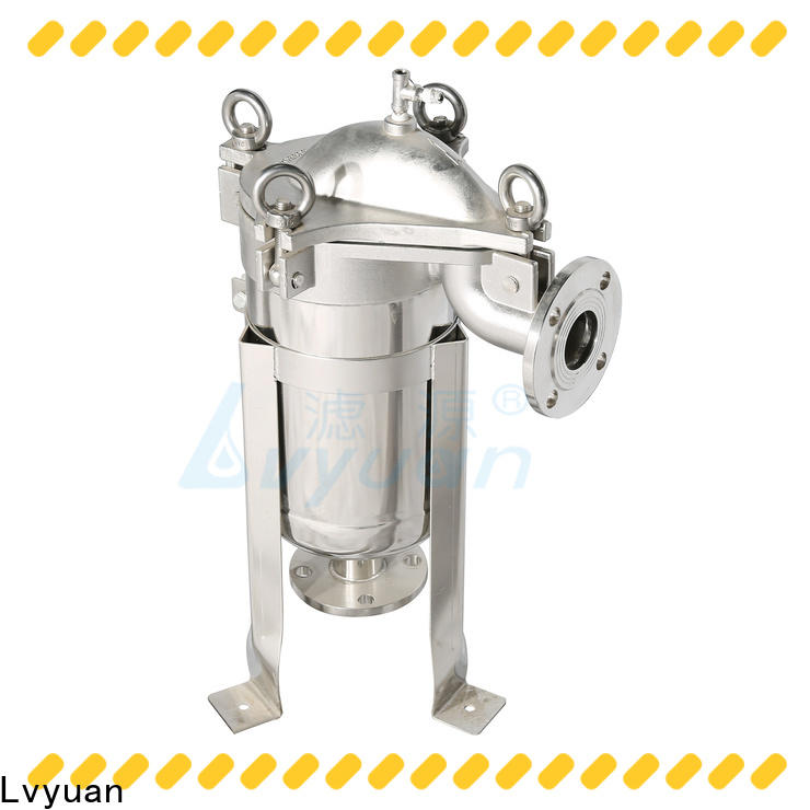 Lvyuan professional ss filter housing rod for food and beverage
