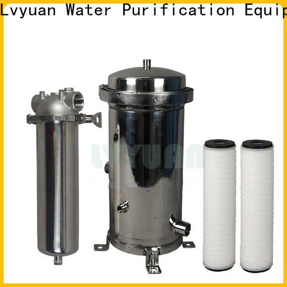 Lvyuan safe water filter cartridge factory for industry