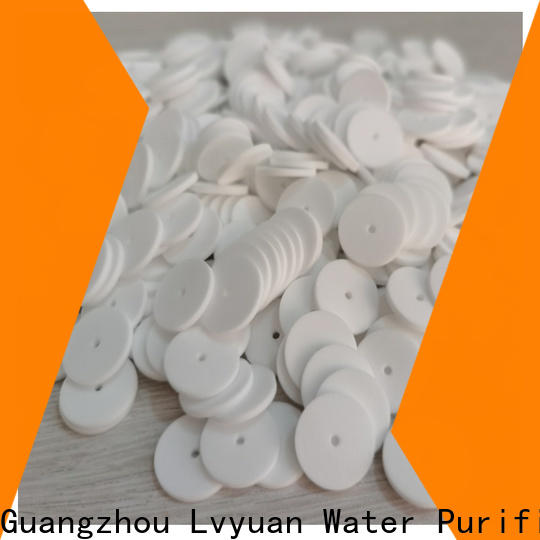 Lvyuan titanium sintered metal filter rod for food and beverage