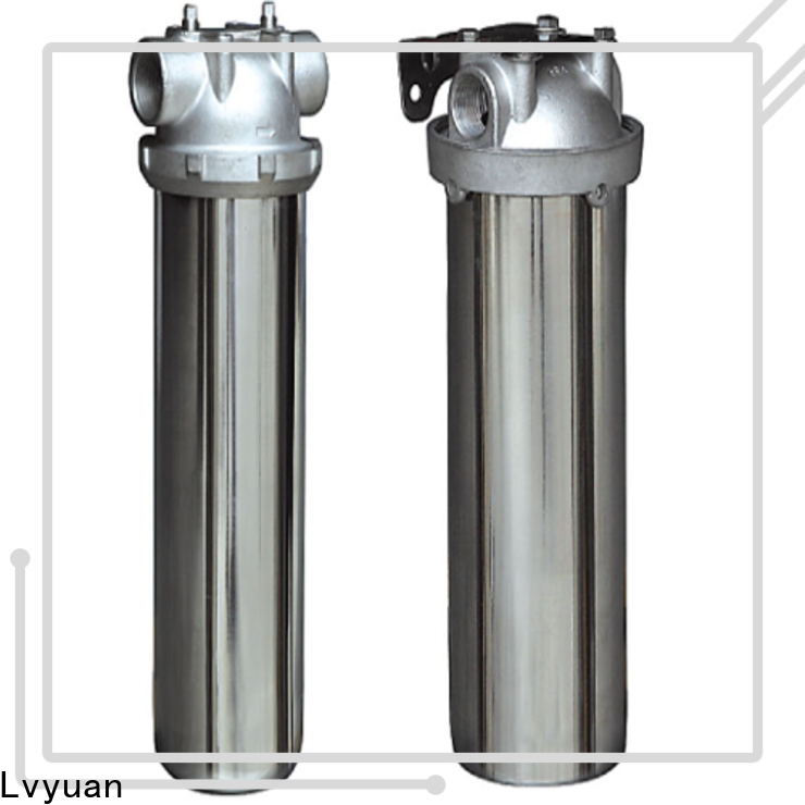 Lvyuan titanium stainless water filter housing with core for food and beverage