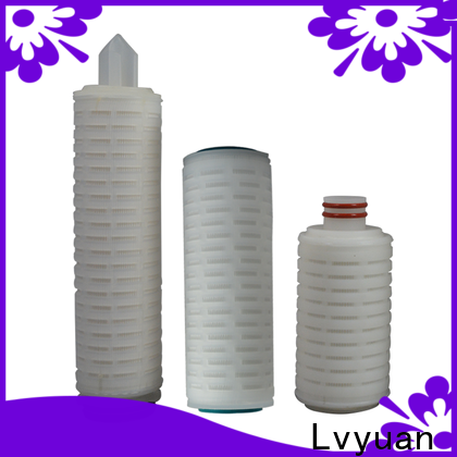 Lvyuan water pleated filter element replacement for organic solvents