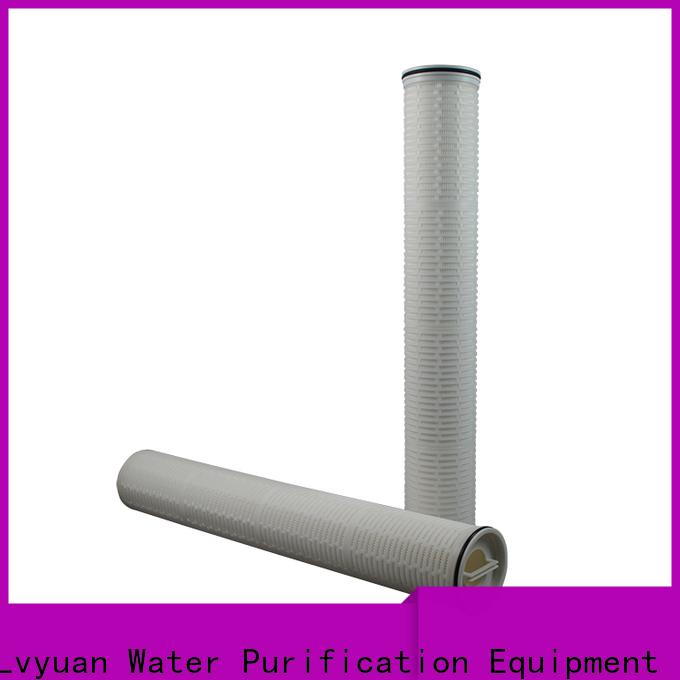 Lvyuan high flow water filter replacement cartridge manufacturer for sea water desalination
