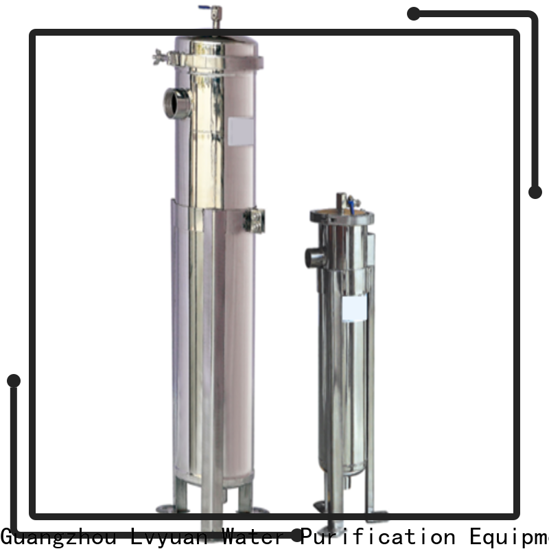 porous stainless steel water filter housing rod for oil fuel