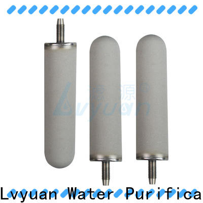 block sintered carbon water filter rod for food and beverage