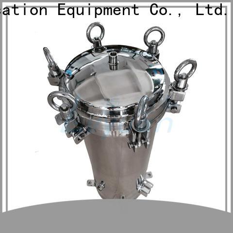 Lvyuan stainless steel bag filter housing manufacturer for sea water desalination