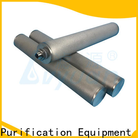 activated carbon sintered powder ss filter manufacturer for sea water desalination