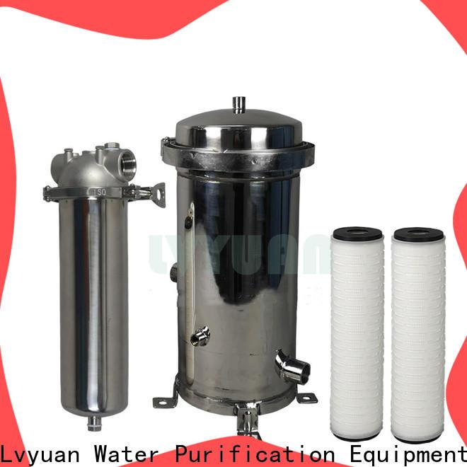 Lvyuan safe water filter cartridge manufacturer for industry