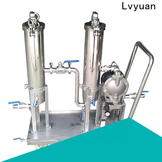 professional stainless steel bag filter housing manufacturer for industry