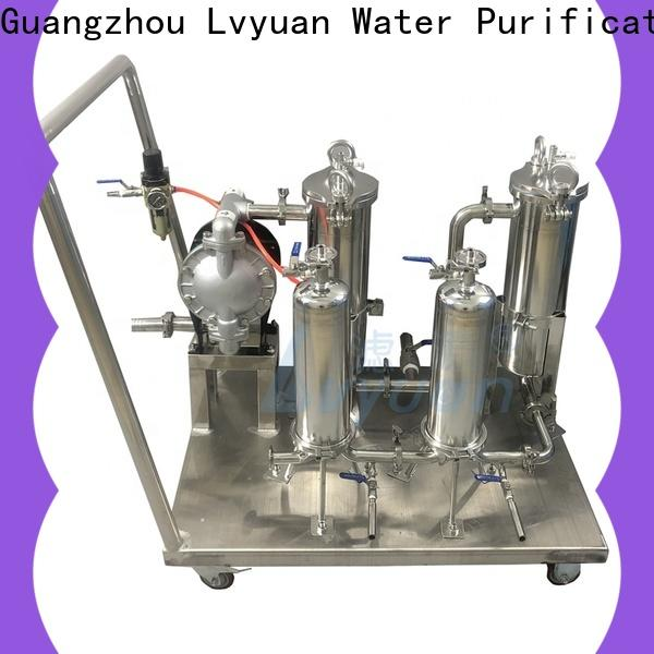 Lvyuan stainless steel filter housing manufacturer for food and beverage