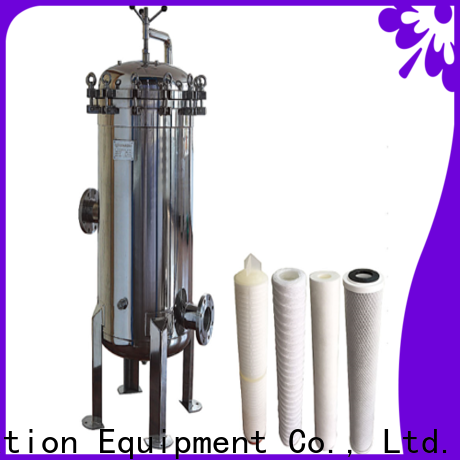 Lvyuan professional ss filter housing with core for sea water treatment