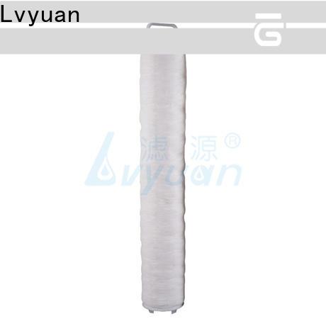 Lvyuan high flow water filter supplier for sea water desalination