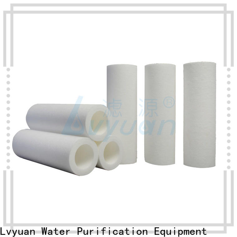 Lvyuan melt blown filter replacement for food and beverage