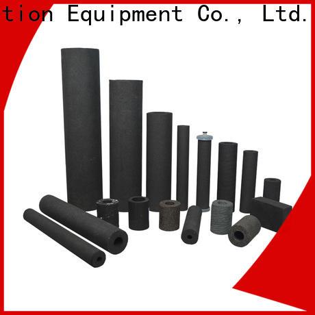 titanium sintered plastic filter supplier for industry