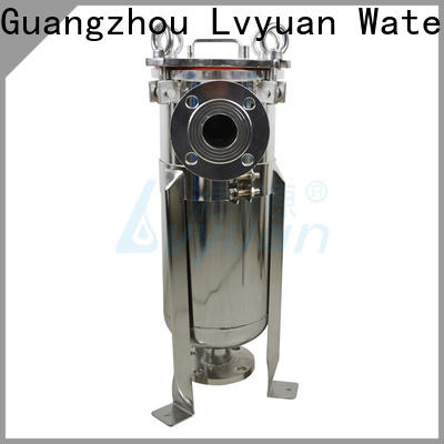Lvyuan efficient stainless water filter housing manufacturer for sea water desalination