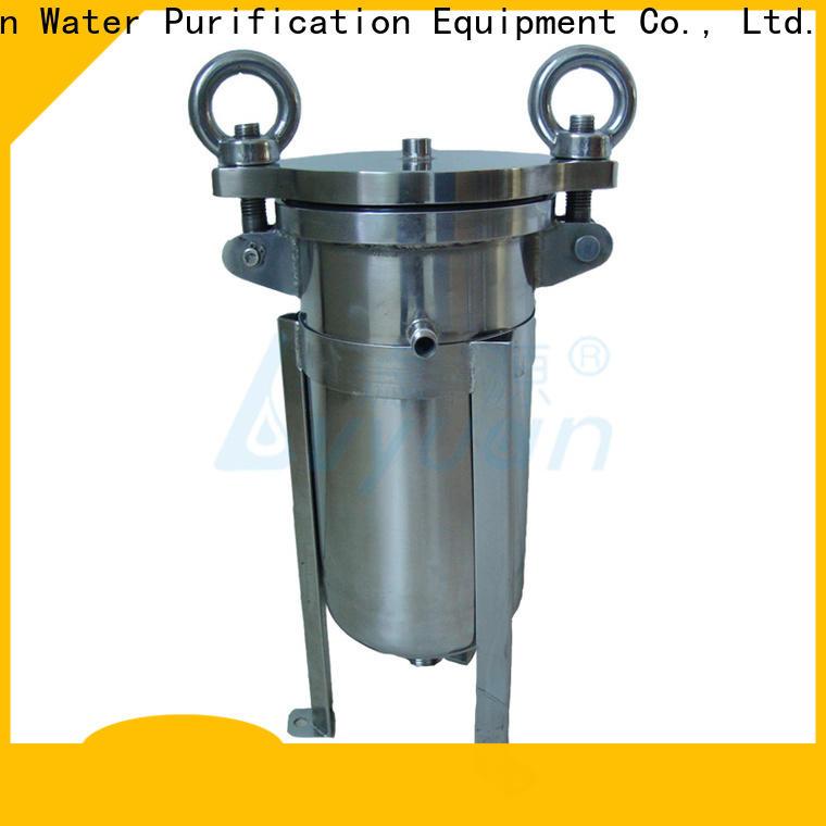 Lvyuan ss cartridge filter housing rod for sea water treatment