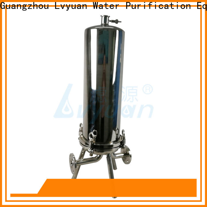 Lvyuan high end stainless water filter housing manufacturer for industry